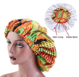 Satin Lined Afrikka Bonnets
