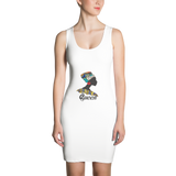 African Queen Sublimation Cut & Sew Dress