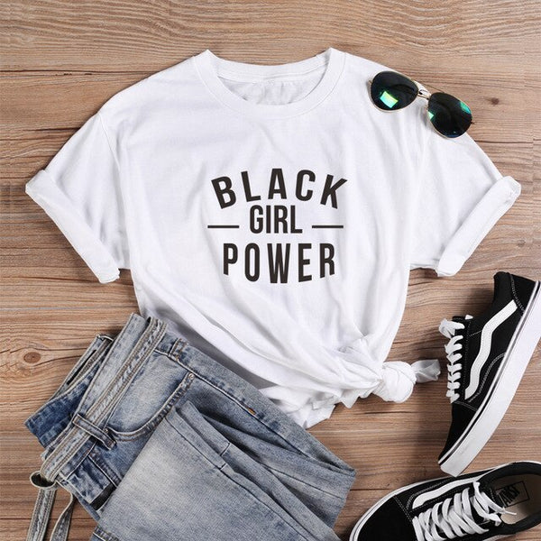 Black Girl Power Tshirt