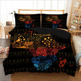 African Map Bedding Sets
