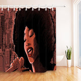 Melanaire Shower Curtain