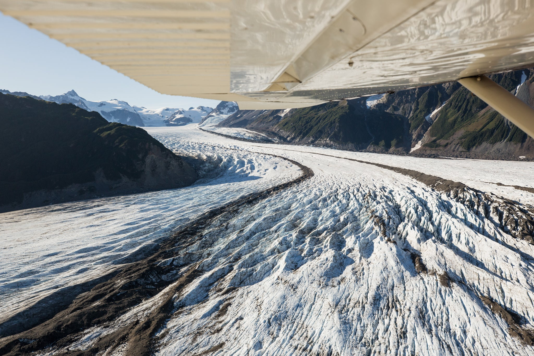 Adventure Locker - Glacier view from plane