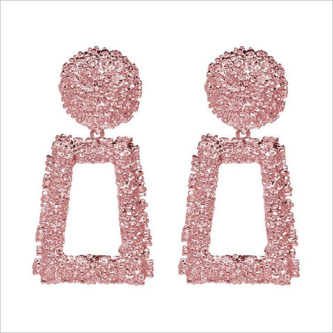PInk Door Knock Earrings