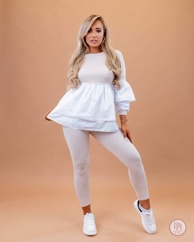 Lana Frill Lounge Wear