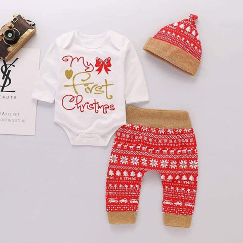 My First Christmas Baby Boys Set