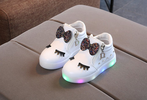 Light Up High Tops White