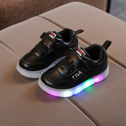 Feel Light Up Runners Black