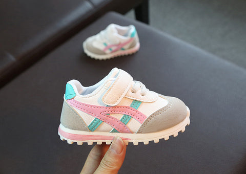 Kids Asa Trainers Pink
