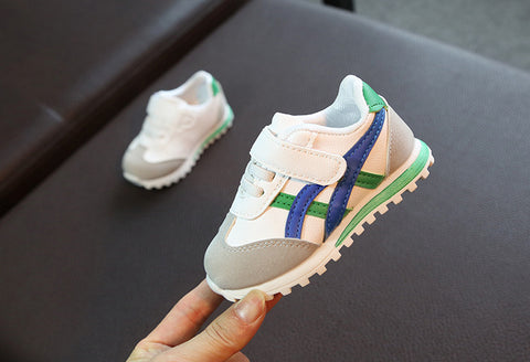 Kids Asa Trainers Green