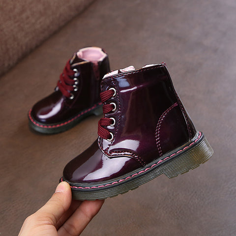 Wine Lace Up Docs