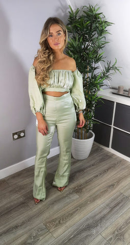 Chloe Two Piece Top & Trousers