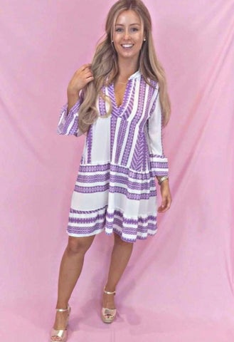 Roxy Layered Shirt- Dress