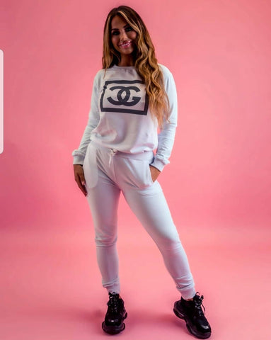 C & G Hooded Lounge Wear Set