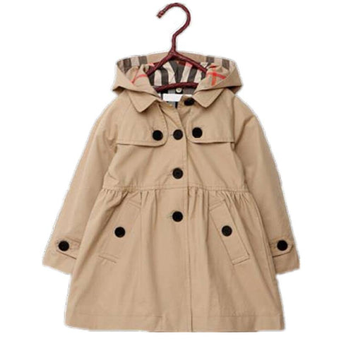 Kids Mac Jacket Beigh