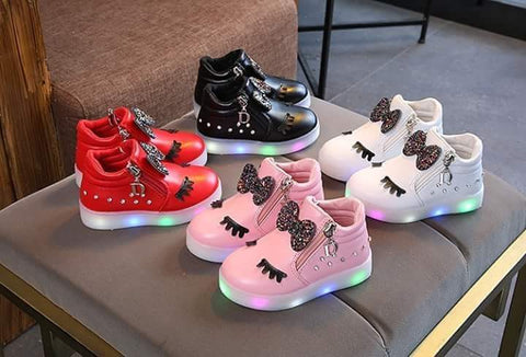 Light Up High Tops Pink