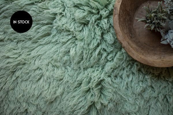 IN STOCK :: Flokati Standard :: SAGE