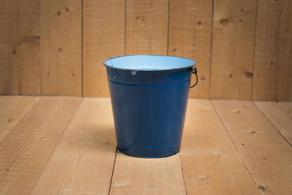 Genuine Vintage Bucket :: Dark blue