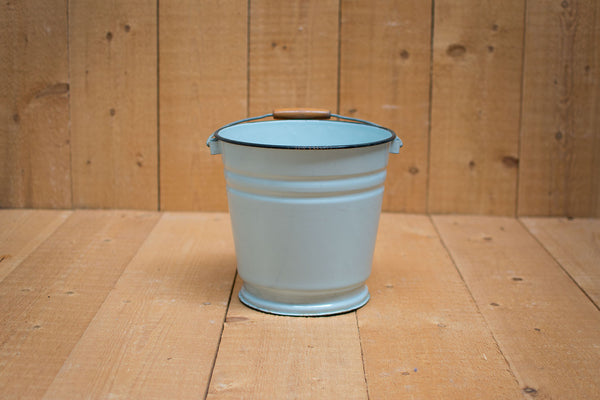 Genuine Vintage Bucket :: Pale grey/blue