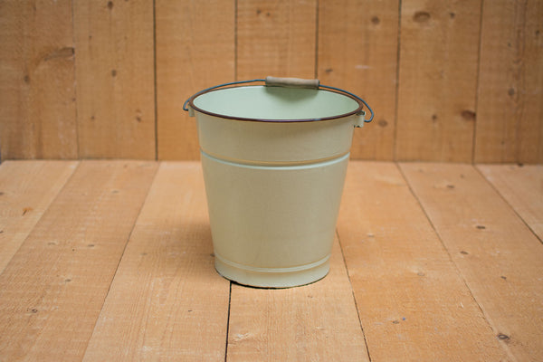 Genuine Vintage Bucket :: Yellow/beige