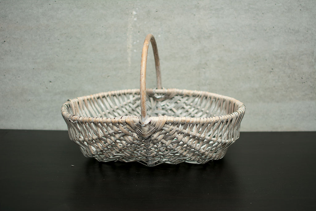 Rattan basket OVAL