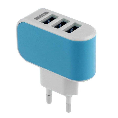USB phone charger - 3.1 A    3 ports - www. efair .lk
