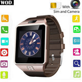 Bluetooth Smart Watch Phone  SIM Card Camera For Android & iPhone - www. efair .lk