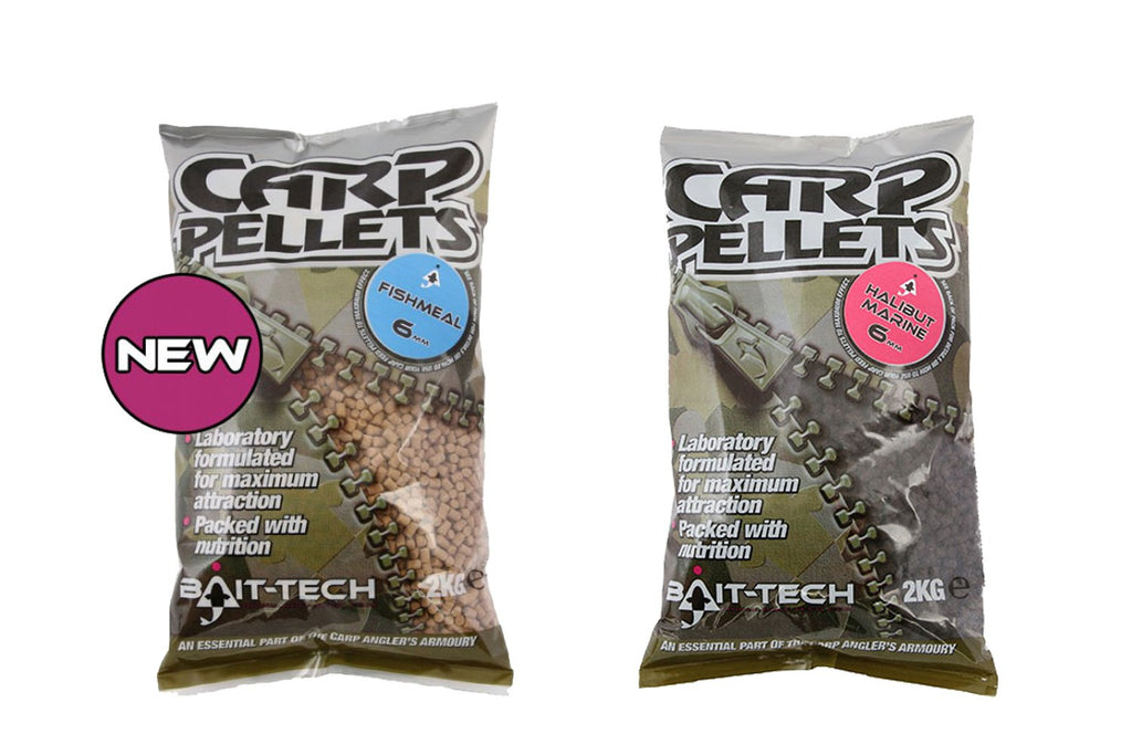 Bait Tech Carp Feed Pellets 2kg-Bait Tech-Brodies Angling & Outdoors