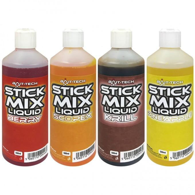 Bait Tech Stick Mix Liquids 500ml-Bait Tech-Brodies Angling & Outdoors