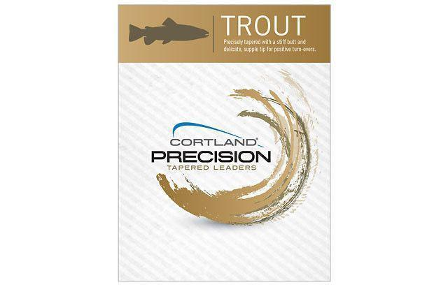 Cortland Precision Tapered Leaders - Trout-Cortland-Brodies Angling & Outdoors