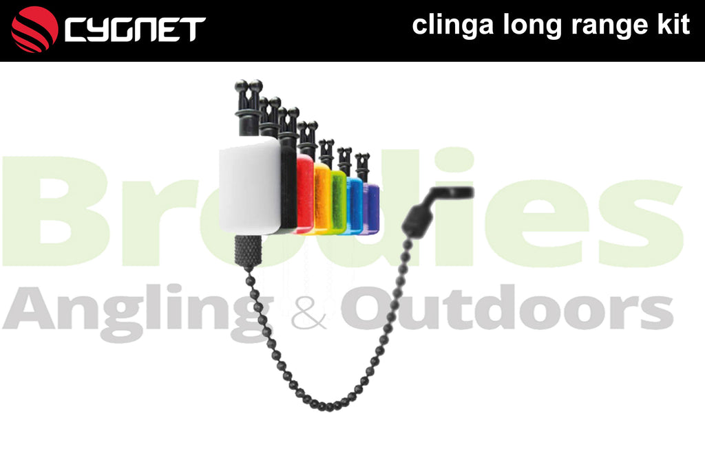 Cygnet Clinga Long Range Kit (White)-Trakker-Brodies Angling & Outdoors