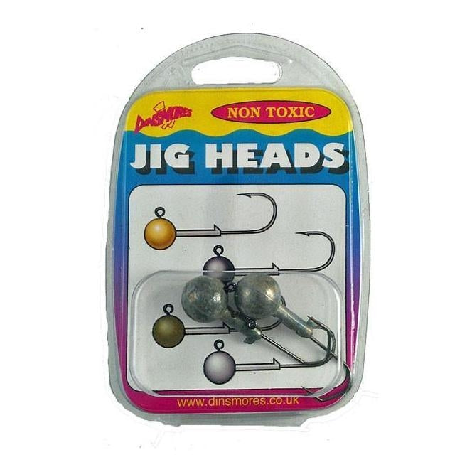 Dinsmores Jig Heads-Dinsmores-Brodies Angling & Outdoors