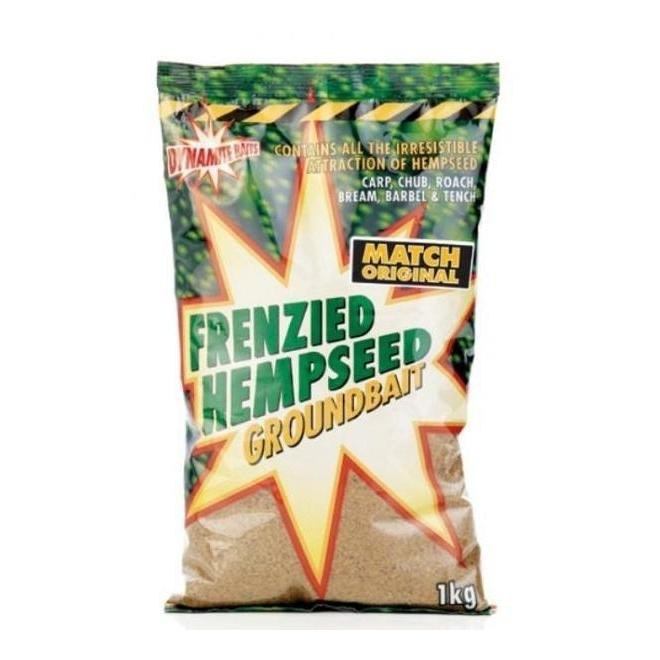 Dynamite Frenzied Hempseed Groundbait-Dynamite-Brodies Angling & Outdoors