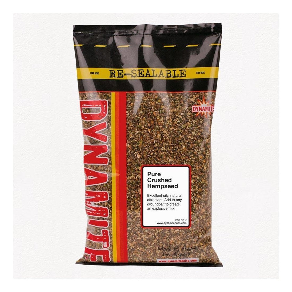 Dynamite Pure Crushed Hempseed 500g-Dynamite-Brodies Angling & Outdoors