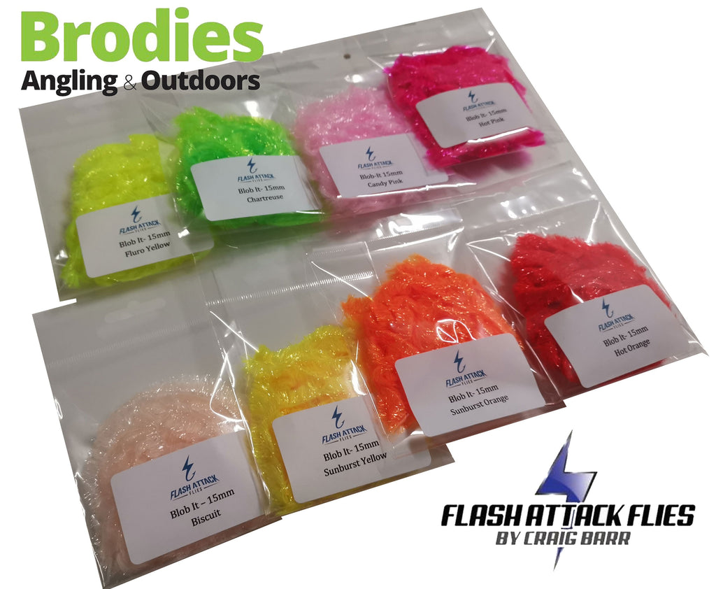 Flash Attack Blob-It Fritz (10mm/15mm)-Flash Attack Flies-Brodies Angling & Outdoors