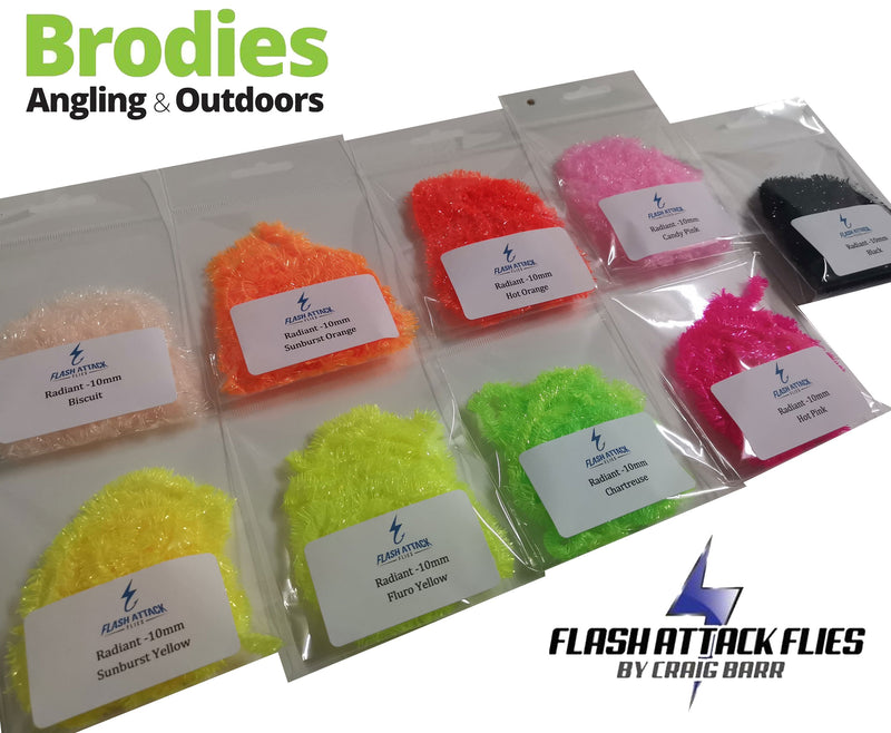 Flash Attack Radiant Fritz (10mm/15mm)-Flash Attack Flies-Brodies Angling & Outdoors