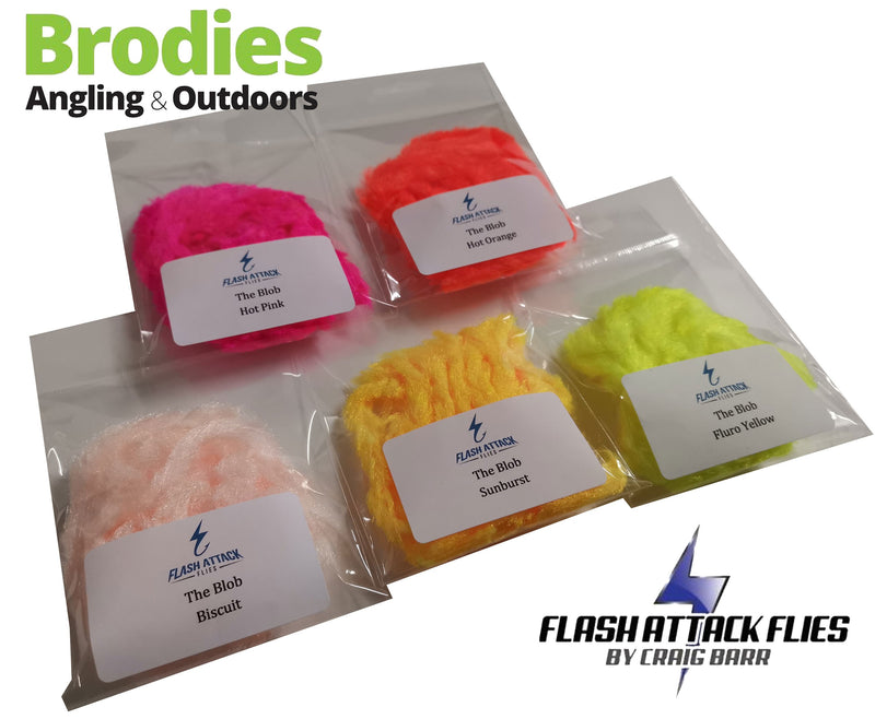 Flash Attack The Blob Fritz-Flash Attack Flies-Brodies Angling & Outdoors