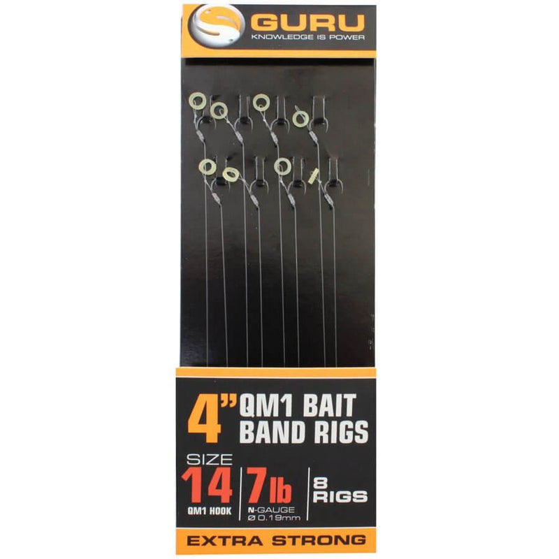Guru Bait Bands QM1 Hooks Rigs-Guru-Brodies Angling & Outdoors