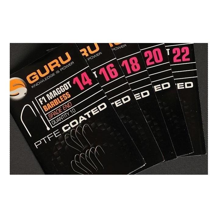 Guru F1 Maggot Hooks-Guru-Brodies Angling & Outdoors