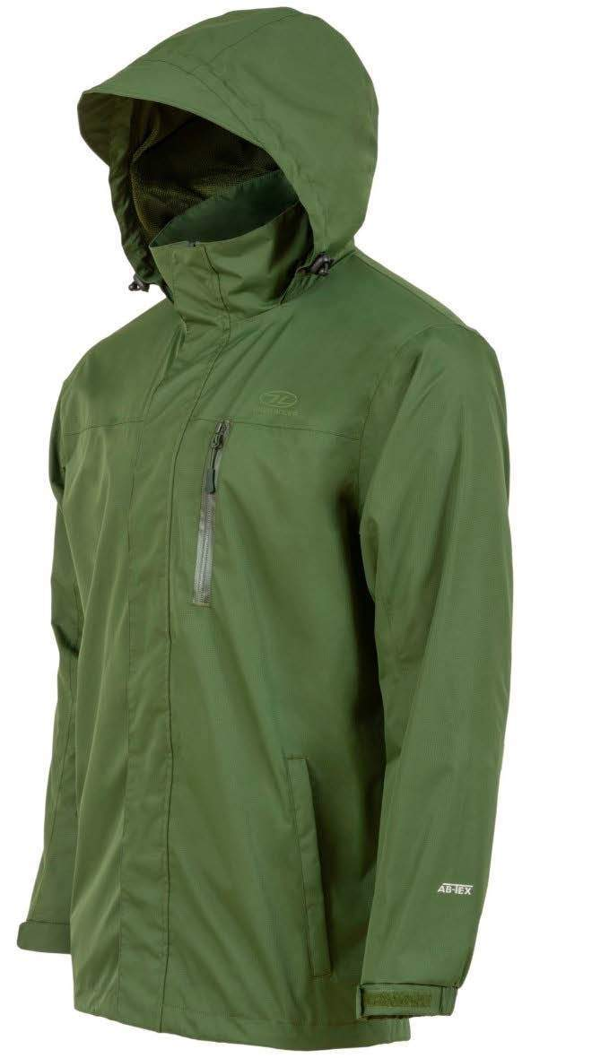 Highlander Aaron Waterproof Jacket-Highlander-Brodies Angling & Outdoors