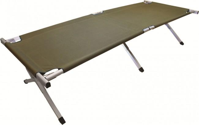 Highlander Aluminium Camp Bed-Highlander-Brodies Angling & Outdoors