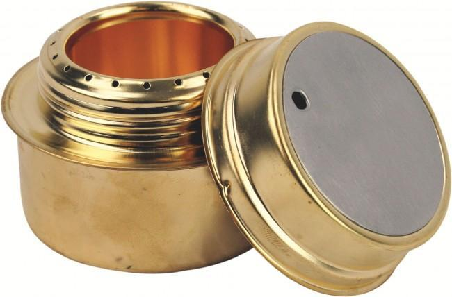 Highlander Brass Military Meths Burning Stove-Highlander-Brodies Angling & Outdoors