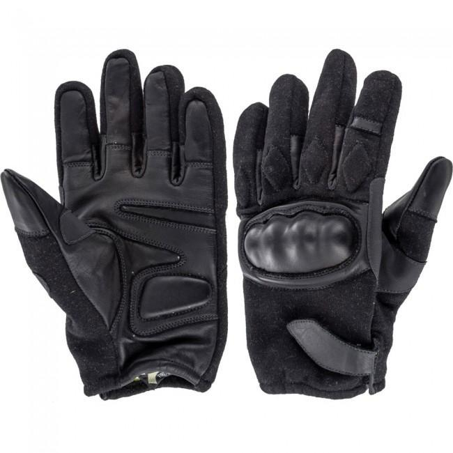 Highlander 'Bravo' Military Leather Gloves with Kevlar-Highlander-Brodies Angling & Outdoors