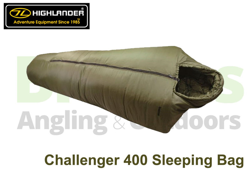 Highlander Challenger 400 Sleeping bag-Highlander-Brodies Angling & Outdoors