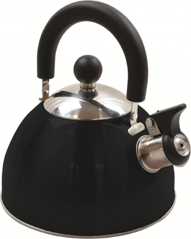 Highlander Deluxe Whistling Kettle-Highlander-Brodies Angling & Outdoors