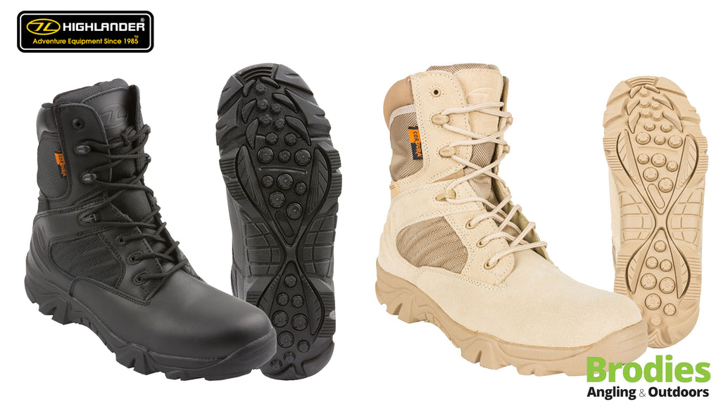 Highlander 'Echo' Military Boots-Highlander-Brodies Angling & Outdoors