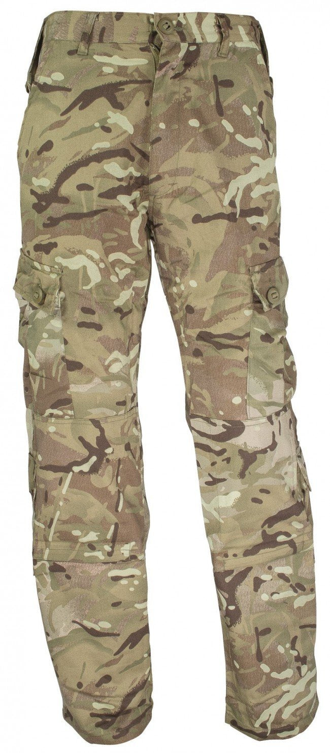 Highlander 'Elite' Camo Rip-Stop Military Trousers-Highlander-Brodies Angling & Outdoors