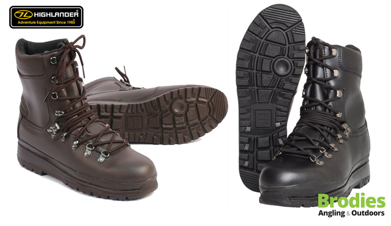 Highlander 'Elite' Waterproof Military Boots-Highlander-Brodies Angling & Outdoors