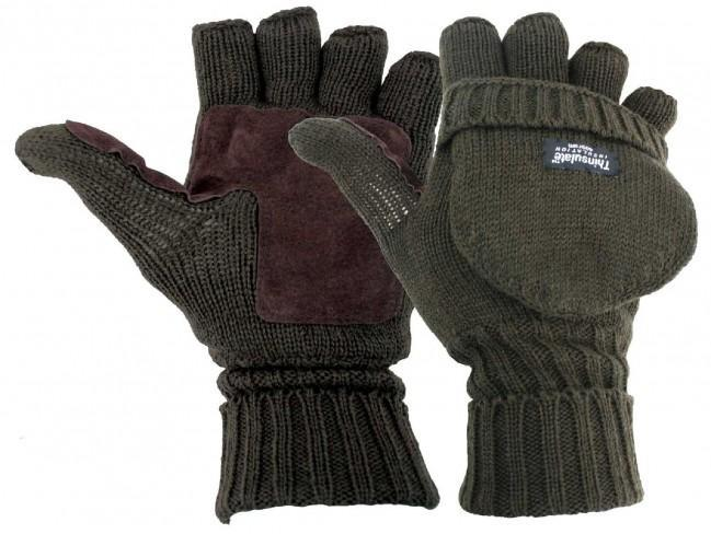 Highlander 'Falher' Shooting Mitts-Highlander-Brodies Angling & Outdoors