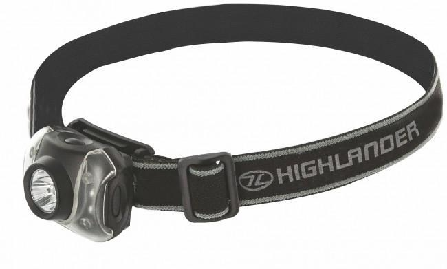 Highlander 'Flame' 4+3 Headtorch-Highlander-Brodies Angling & Outdoors