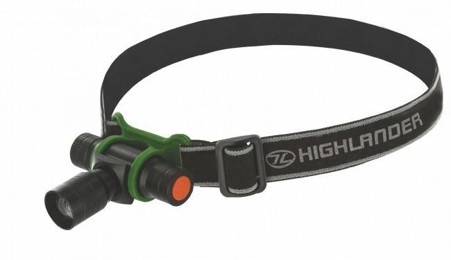 Highlander 'Focus' 3 Watt Headtorch-Highlander-Brodies Angling & Outdoors